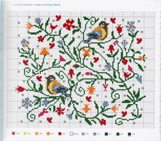 Thrilling Designing Your Own Cross Stitch Embroidery Patterns Ideas. Exhilarating Designing Your Own Cross Stitch Embroidery Patterns Ideas. Cross Stitch Bird, Cross Stitch Samplers, Cross Stitch Animals, Cross Stitch Flowers, Modern Cross Stitch, Cross Stitch Charts, Cross Stitch Designs, Cross Stitching, Cross Stitch Embroidery