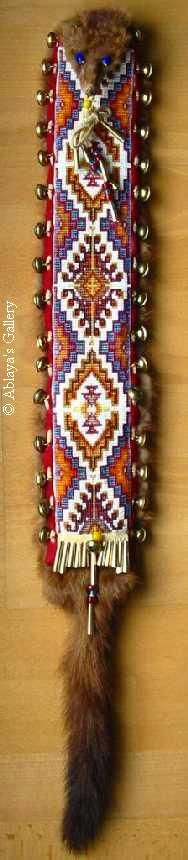native beaded