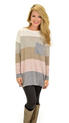 Pacific Sweater, Pink :: NEW ARRIVALS :: The Blue Door Boutique