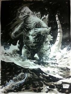 Gabriel Hardman ( Godzilla ) *