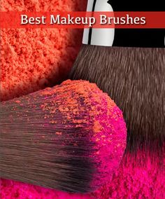The best makeup brushes to apply makeup flawlessly to your face. #makeup #makeupbrushes