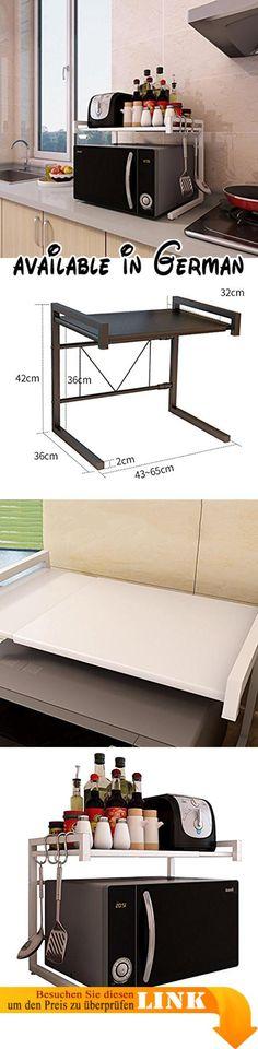 B078X9R9Y9  Küchenwagen Küche Regal Mikrowelle Ofen Rack Ofen - kleine regale für küche