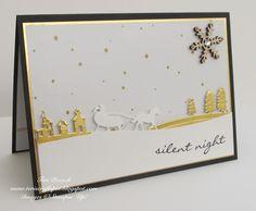 Stampin' Up! - Jingle All The Way - Black and Gold ... Teri Pocock - http://teriscraftspot.blogspot.co.uk/2015/10/jingle-all-way-black-and-gold.html