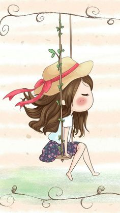 Image discovered by 𝐆𝐄𝐘𝐀 𝐒𝐇𝐕𝐄𝐂𝐎𝐕𝐀 👣. Find images and videos about girl, fashion and cute on We Heart It - the app to get lost in what you love. Cartoon Cartoon, Cute Cartoon Girl, Art And Illustration, Cute Images, Cute Pictures, Cartoon Wallpaper, Anime Art Girl, Belle Photo, Cute Drawings