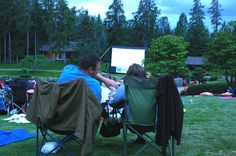 A movie night is just one of the many ways the Devonian Botanic Gardens celebrate Thursday night date nights. Some other events include dance lessons and craft beer nights. Photo supplied