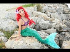 Disney's Little Mermaid Makeup Tutorial !!! - YouTube