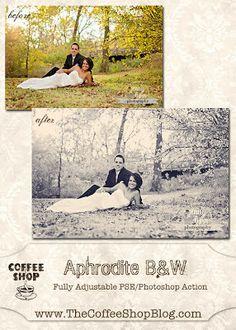 Aphrodite BW - Free CoffeeShop Actions
