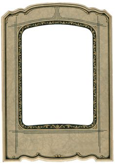 Antique Photo Frame-Free Clipart-Printable Graphics-http://knickoftimeinteriors.blogspot.com/