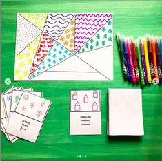 Montessori Activities, Motor Activities, Kindergarten Art, Preschool Learning, Art Classroom, Future Classroom, Drawing For Kids, Art For Kids, Classe D'art