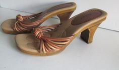 Aztec Shoes Women Shoe sz 6.5    Wonderful Color and Design  Fantastic Line and Poise !!  Woman Shoe:  Sz 6.5 W  Heel 3 3/4    JUN6