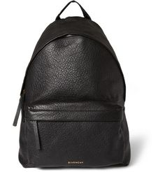 Givenchy Full Grain Leather Backpack | MR PORTER. Simple shape with top quality material