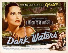 vintage movie poster:  dark waters