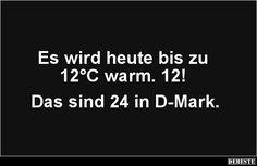 Es wird heute bis zu 12°C warm.. | Lustige Bilder, Sprüche, Witze, echt lustig