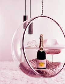 Drink champagne as if it were water...pink champagne and after a few who knows what happens!