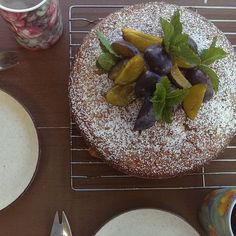 """""""Thanks for sharing your Meyer lemon & olive oil cake @tamsinstable in this month's @countrystylemag We made ours with lime zest instead of lemon, and…"""""""