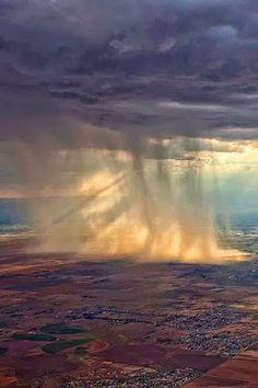 The way it rains in Colorado