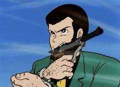 no crying until the end Lupin The Third, Green Jacket, Studio Ghibli, Me Me Me Anime, Blue Yellow, Disney Characters, Fictional Characters, Manga, Comics
