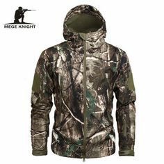 Men's Camouflage Fleece Jacket
