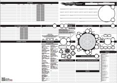 5 fun alternative character sheets for 5th edition.
