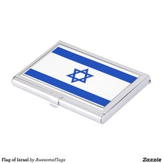 Flag of Israel Business Card Case