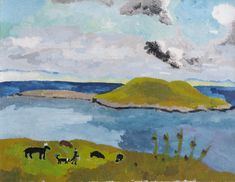kate nicholson - oil on canvas - skye (1949)