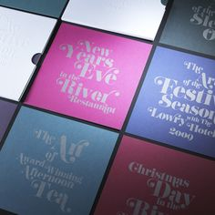 The Lowry Hotel – Christmas Brochure 09 / Work / Creative Spark in Manchester