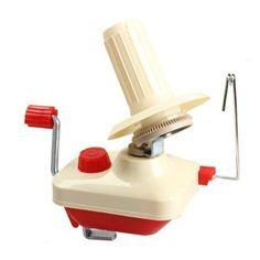 dealglad® Portable ménagers Commande Manuelle fil fibre chaîne fil Boule Laine…