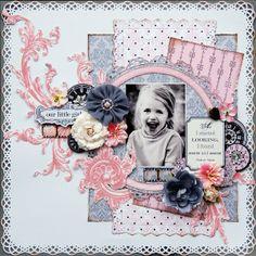 Our Little Girl *Teresa Collins* - Scrapbook.com