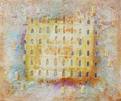 Doors of Serenity - Discover contemporary art at Roussillon in Provence. Natural pigment, steel, sand on canvas. Originals Doors of Tapiezo. Doors open towards infinity, reminiscence of childhood memories, harmonies, harmony in light! The french artist Tapiézo is constantly in search of what brings serenity and radiates from mankind, producing rare and intense works