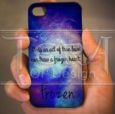Frozen Quote design for iPhone 4/4s, iPhone 5, iPhone 5s, iPhone 5c, Samsung Galaxy S3, Samsung Galaxy S4 Case on Etsy, $14.99