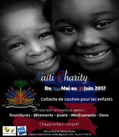 """Hello,   Pour répondre aux besoins les plus urgents des populations en #Haïti le community service """"HAÏTI CHARITY"""" a besoin de vos #dons pour offrir un meilleur avenir aux #enfants d'Haïti.   Merci à tous!   #charity #event #wibs #weller #businss #school #international #dons #Haïti #collecte"""