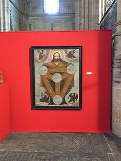 Dios en Trinidad, catedral de Salamanca