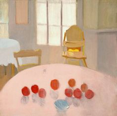 Fairfield Porter Pink Table Top 1970