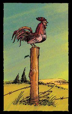 Prairie Tarot / Ace of Wands #tarot