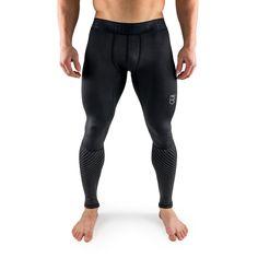 Active Dry Compression Pants - Black - Rise Basketball Compression Pants, Compression Shorts, Sport Fashion, Mens Fashion, Fashion Tips, Corset, Logo Basketball, Mens Tights, Men Style Tips