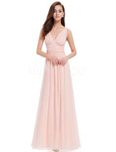 0bbe4e2a7b18 Chiffon Mother Dress Mint Green Long Prom Dress V Neck A Line Floor Length  Party Dress  Mint