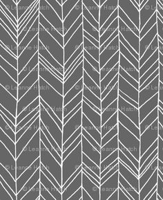 Featherland Gray wallpaper @Spoonflower