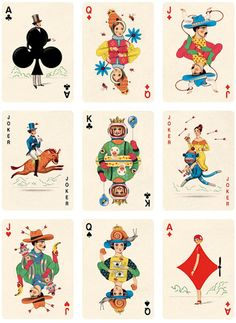 Illustrator Gives Each Playing Card An Interesting Personality - DesignTAXI.com