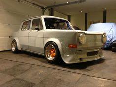 Simca 1000 rallye afgebouwd bij klant