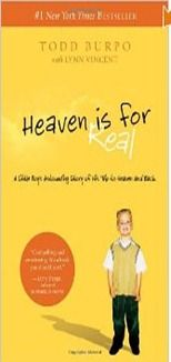 Heaven Is For Real... the best book ive read in a while! True story! so uplifting!