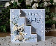 Tuesday Tutorial - Happy Days (Flowers, Ribbons and Pearls)
