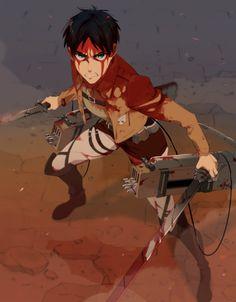 Attack on titan>Eren