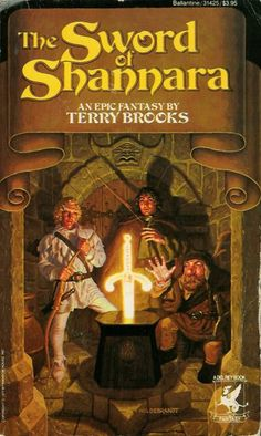 "The Shannara Series - by Terry Brooks. Goodreads lists the best order to read Brooks' novels if you are new to the series, starting with ""The Sword of Shannara"" Shannara Series, Shannara Books, Fantasy Book Covers, Fantasy Books, Fantasy Series, Fantasy Fiction, Fantasy Authors, Terry Brooks Books, I Love Books"