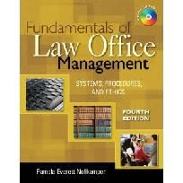 Paralegal Textbook: Fundamentals of Law Office Management