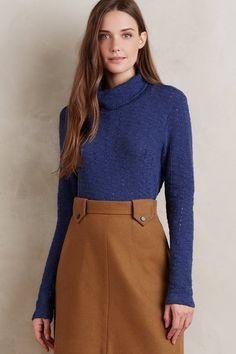 Cozy turtleneck sweater by Anthropologie #sweaterweather