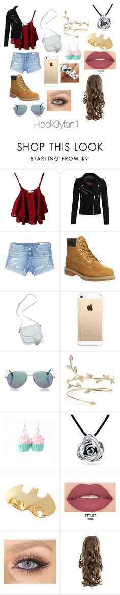 """""""Summer outfit"""" by alexandraautidiea9 on Polyvore featuring Superdry, rag & bone/JEAN, Timberland, Cutler and Gross, Bling Jewelry, Noir and Smashbox"""