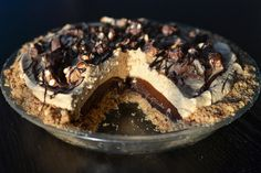 How To Make A Candy Bar Pie--Take Five Pie, that is.