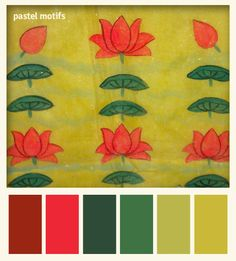 Pichwai (Temple Fabric): for the love of pastels