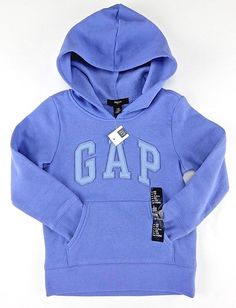 Gap Hoodie Sweatshirt Arch Logo LightWeight Zipper Cotton Blend ...