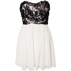 Elise Ryan Cornelli Lace Dress ($73) ❤ liked on Polyvore featuring dresses, vestidos, short dresses, robes, party dresses, short lace cocktail dress, white cocktail dresses, short white dresses and lace cocktail dress